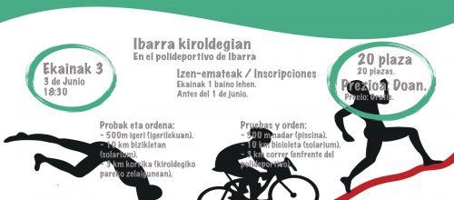 Ibarra  kiroldegiko  II.  triatloia